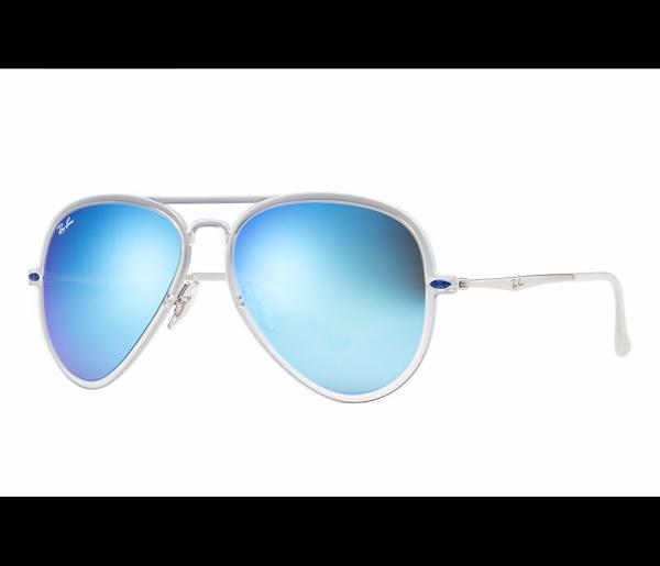 Óculos de Sol Ray Ban RB4211 646 55 Lente Azul Light Ray - MODA PRAIA df3ad22066
