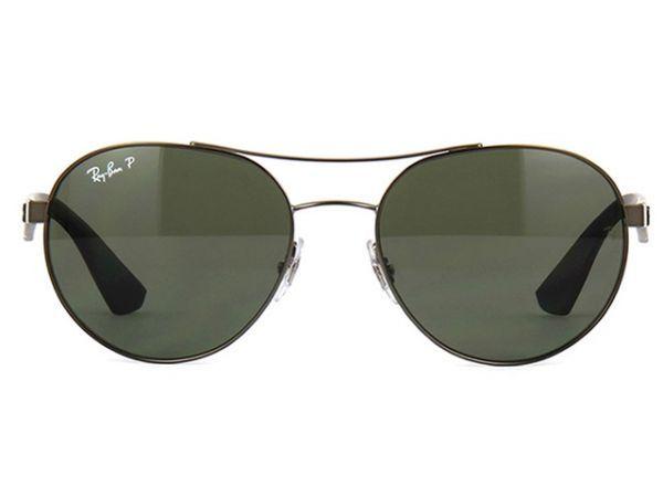 e2e8048e20eac Óculos Ray Ban RB3536 029 71 Metal Unissex Polarizado - MODA PRAIA
