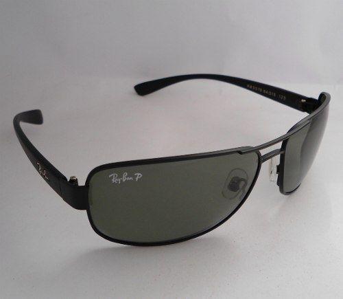 0c264f81329fc Ray Ban 3312 Preto Polarizado Óculos Sol Masculino - MODA PRAIA