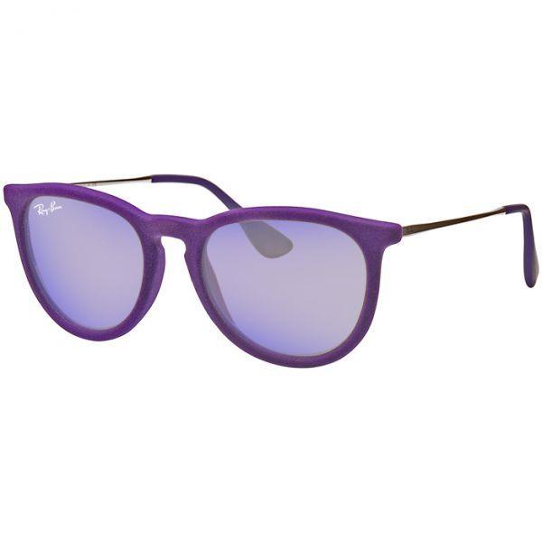761bf349ecd25 Óculos Ray Ban RB4171 de Veludo Erika Roxo Espelhado - MODA PRAIA