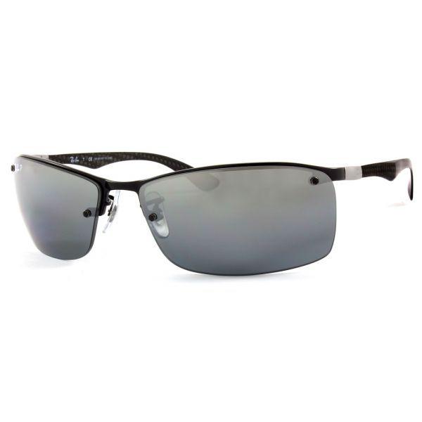 Óculos Ray-Ban RB8315 002 82 63 Tech Cinza Espelhado Polarizado ... fba8d40a89